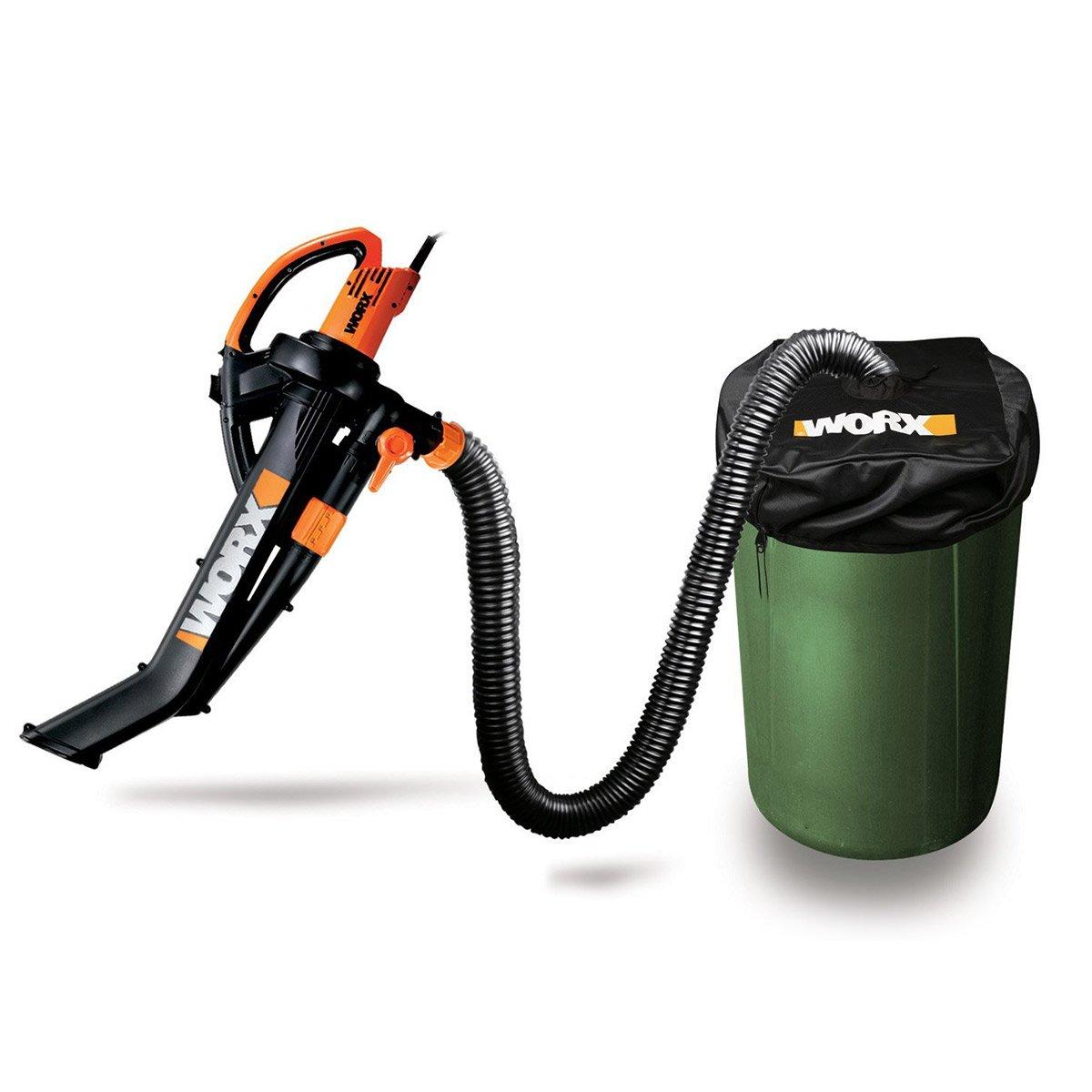 Best Leaf Blower Vacuum Mulcher : Worx trivac blower mulcher yard vacuum with leaf