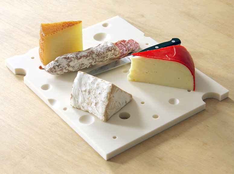 100 Grade A Swiss Cheese Serving Board The Green Head
