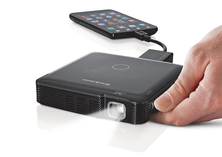 1080p hdmi pocket projector the green head for Pocket projector price