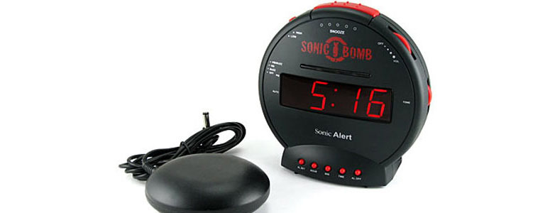 Sonic Bomb Alarm Clock And Bed Shaker The Green Head