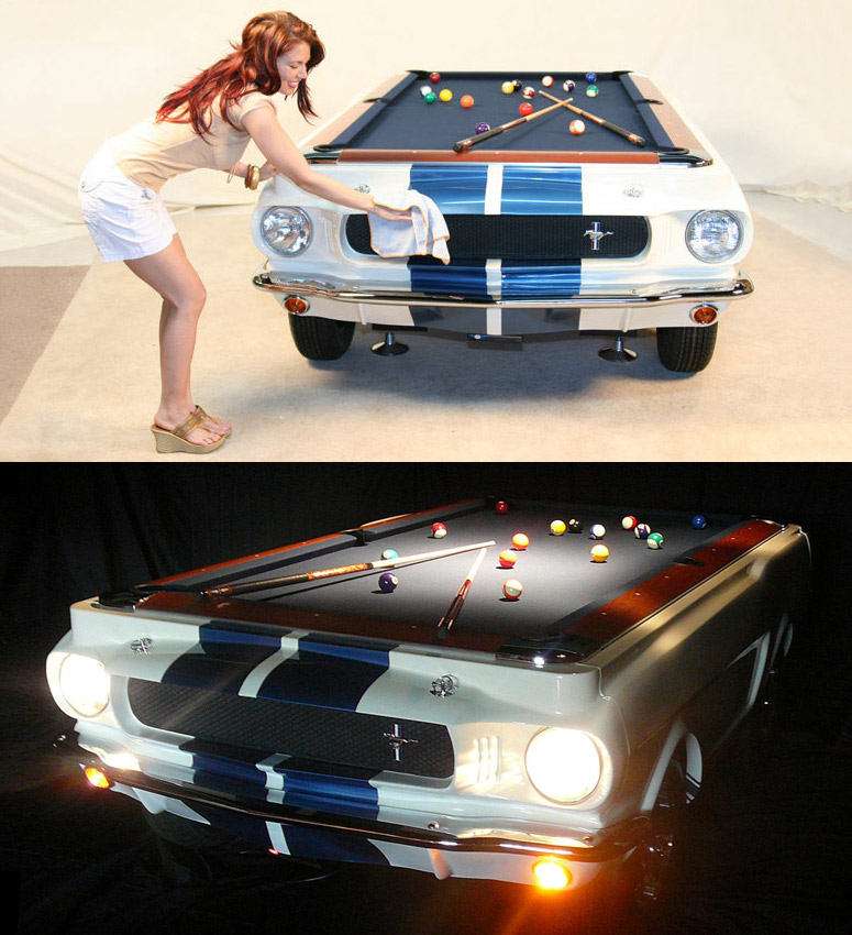 1965 Shelby GT 350 Pool Table