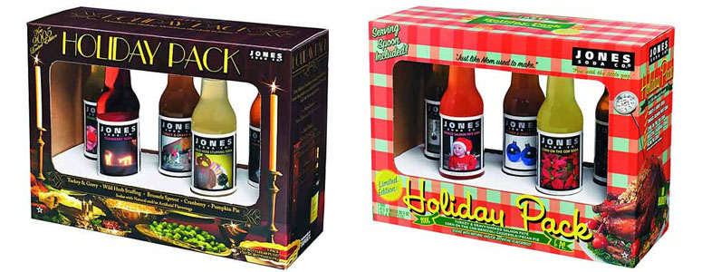 2005 Jones Soda Holiday Packs - The New Holiday Tradition!