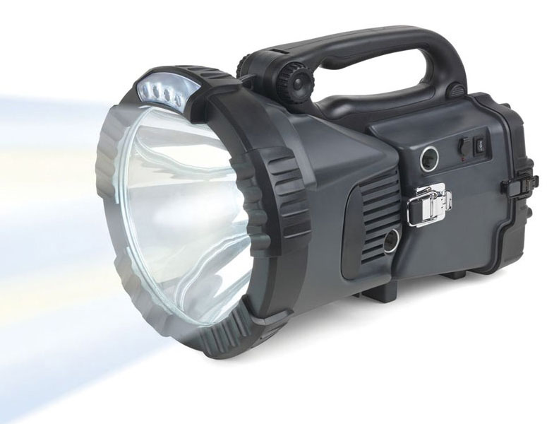 3,200 Lumens High Intensity Xenon Rechargeable Flashlight