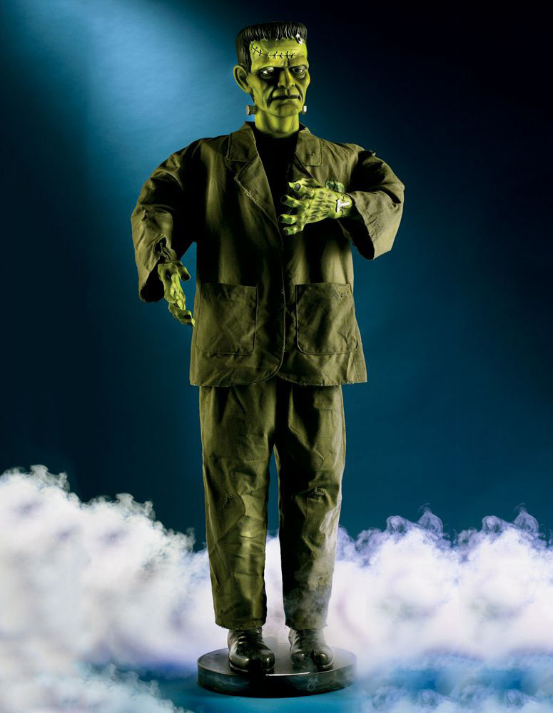 5 Foot Tall Animated Frankenstein S Monster The Green Head