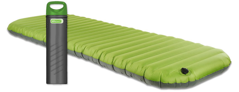 AeroBed Pakmat - Portable Airbed Stores Inside Pump