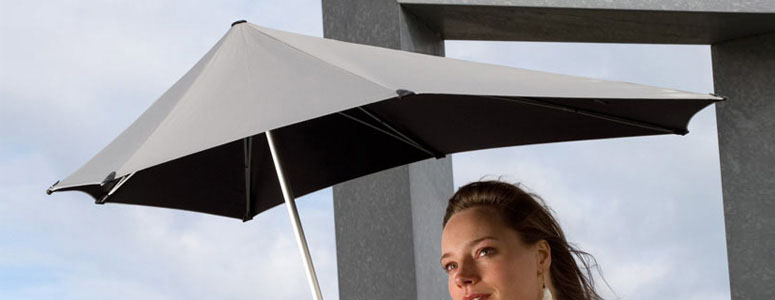 Amazing Senz Original Umbrella Withstands 70 Mph Winds