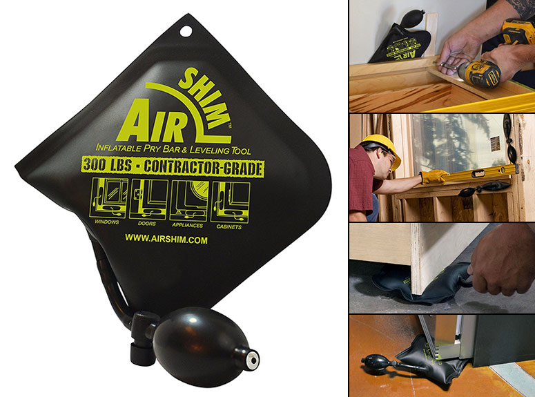 Air Shim - Inflatable Leveling Tool and Pry Bar