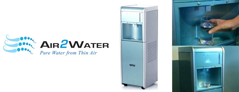 Air2Water Dolphin Watercooler - Water Out of Thin Air!