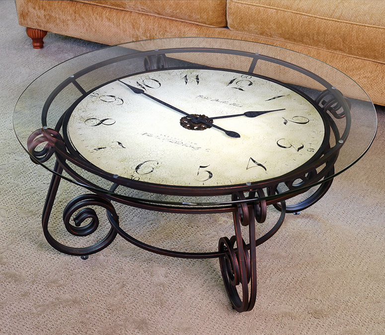 Analog Clocktail Table