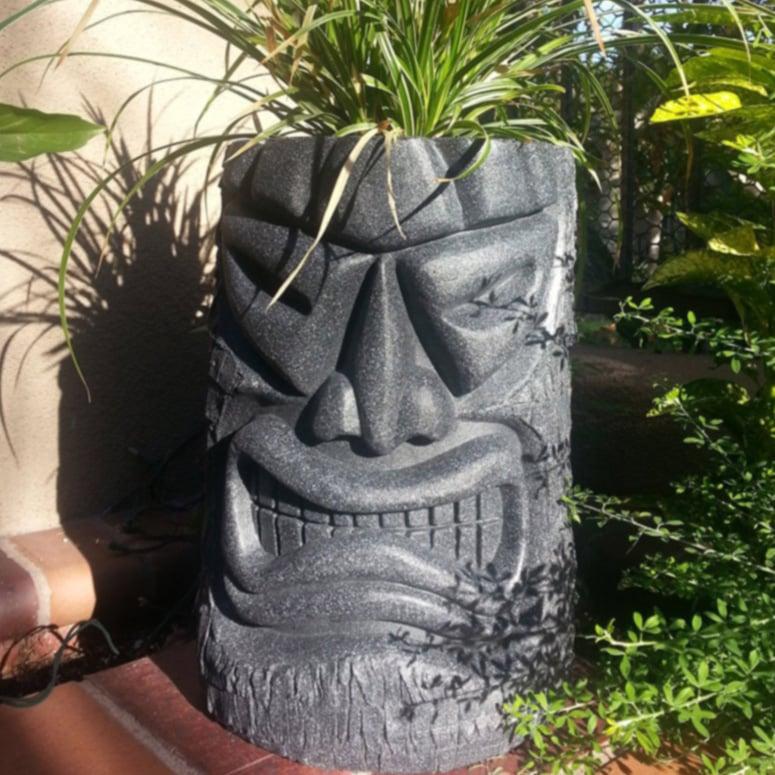Angry Tiki Planter The Green Head