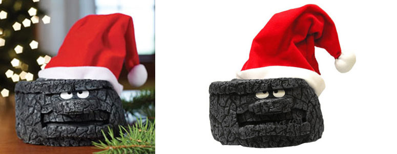 Animated Singing and Dancing Christmas Coal