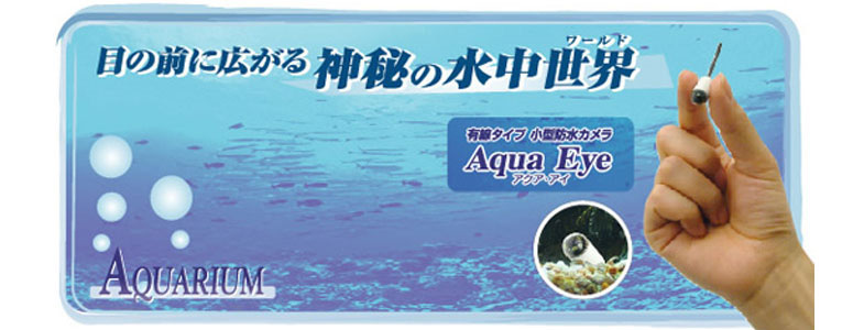 Aqua Eye - Miniature Underwater Video Camera