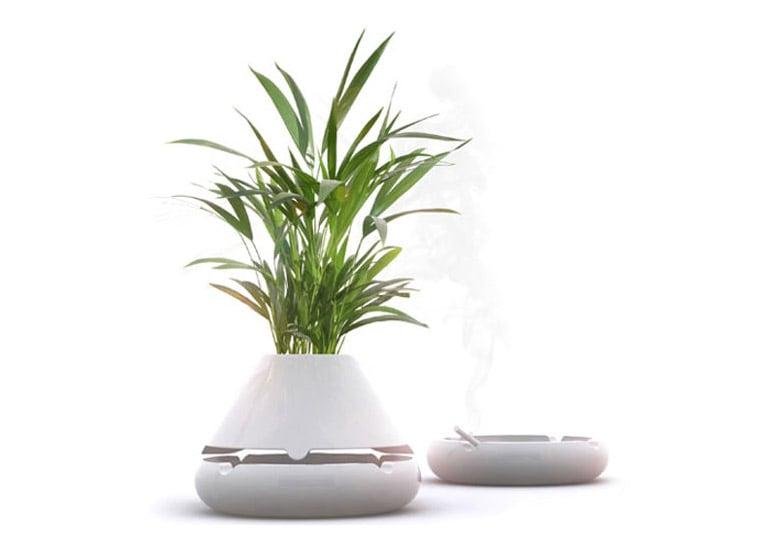 Tab Ab Ashtray Vase Or Planter The Green Head