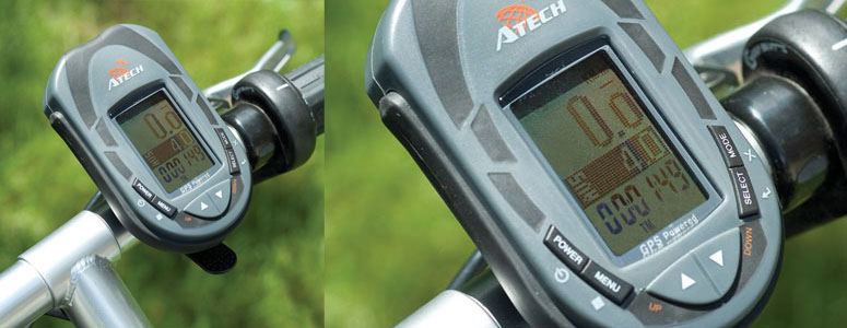 Atech Detachable Bicycle GPS System