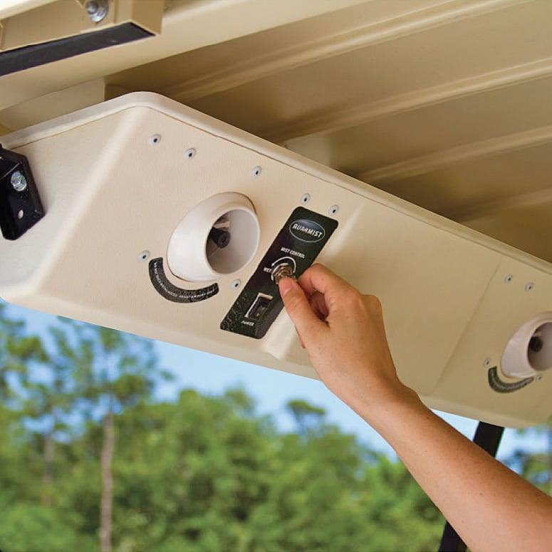 Auramist Bahia Golf Cart Dry Mist Cooling System