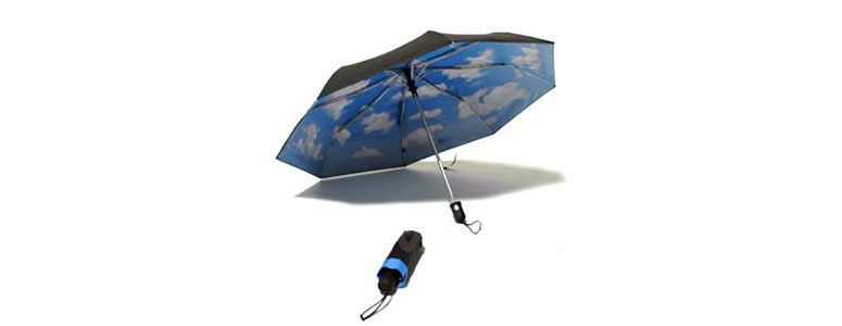 Automatic Mini Sky Umbrella : Auto-Open - Auto-Close