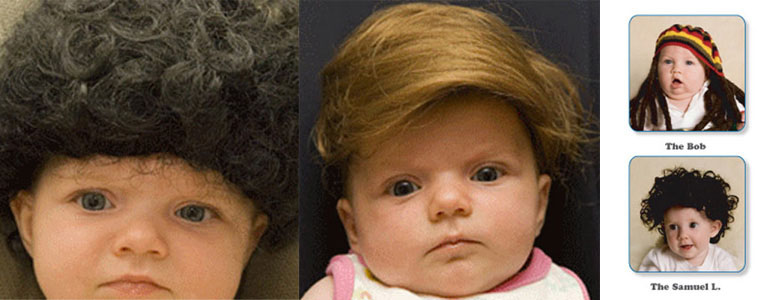 Baby Toupees - Make Your Baby Look Like a Celebrity!