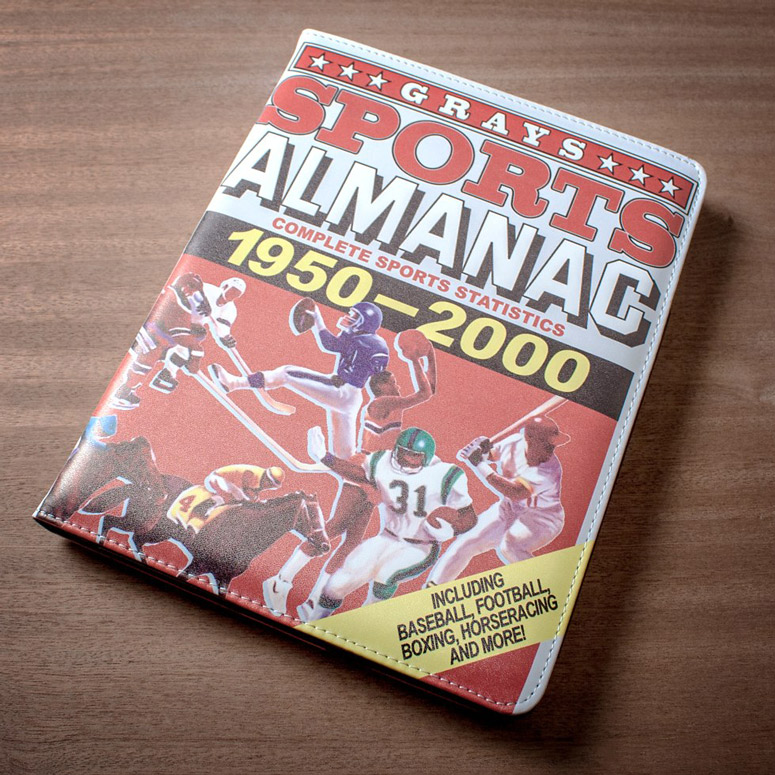 Back To The Future Grays Sports Almanac iPad Case