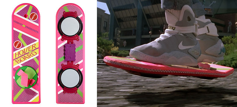 Back To The Future Hoverboard - The Green Head