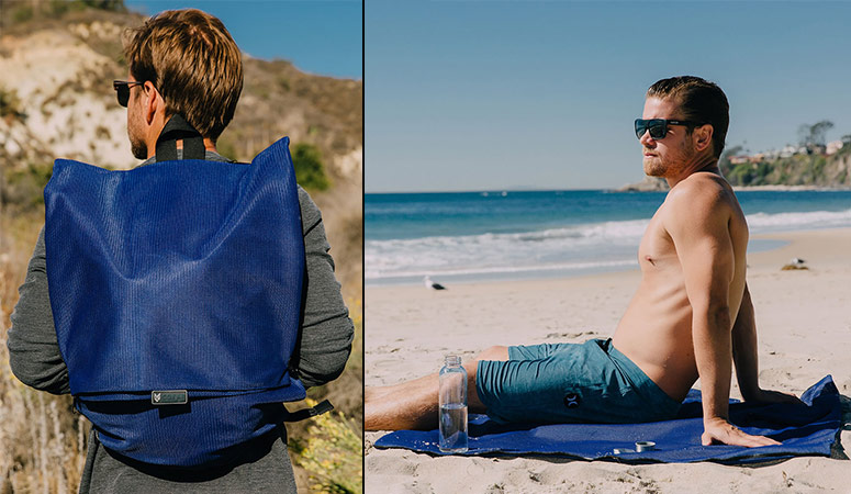 Sandless Beach Mat / Backpack