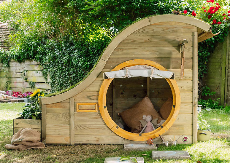 Backyard Hobbit Hole Playhouse