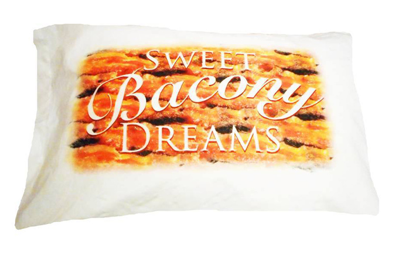 Bacon Scented Pillowcases