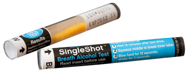 BACtrack SingleShot - Disposable Breath Alcohol Tester