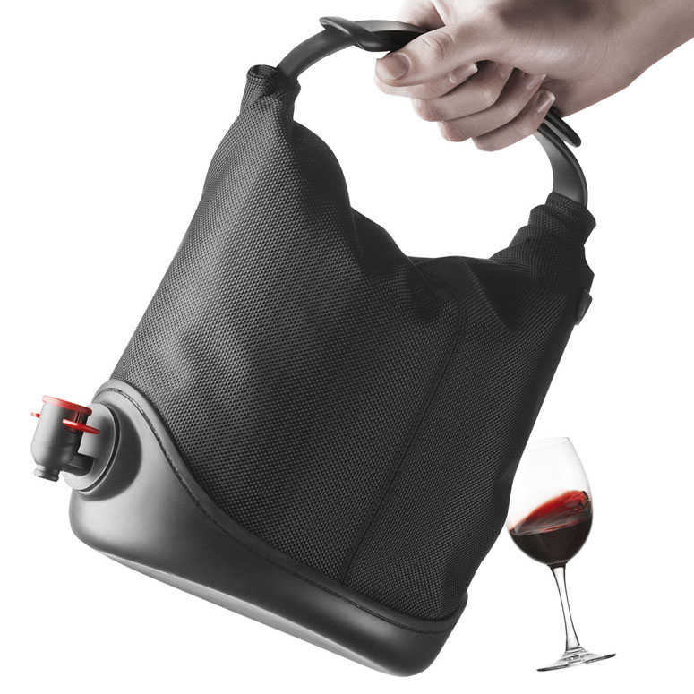Box Of Wine Tote