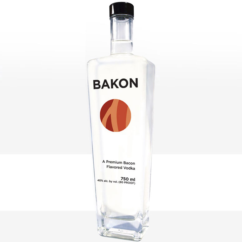 Bakon Vodka - Vodka with a Savory Bacon Flavor!