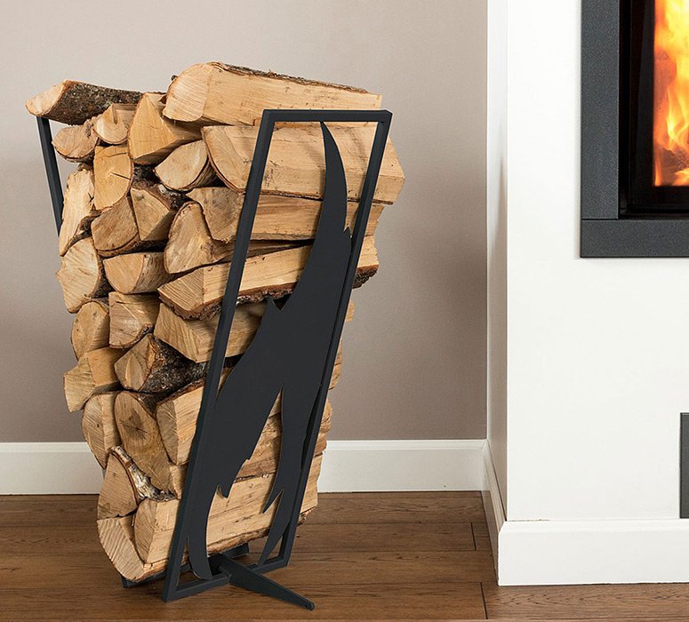 Baltic Steel Firewood Log Rack