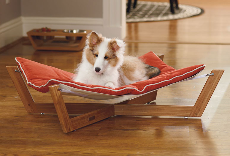Bambu Pet Hammock - The Green Head