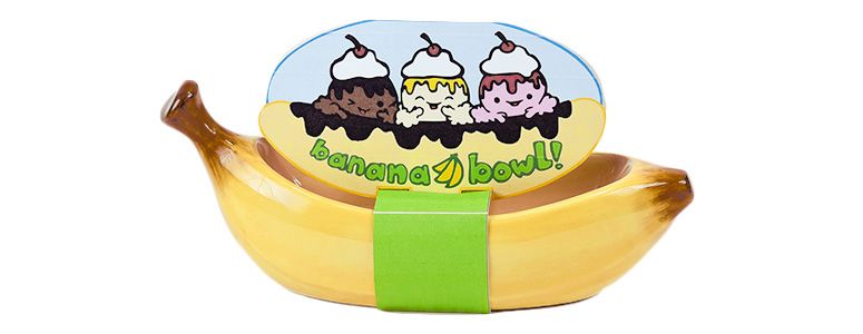Banana Split Boat Bowl