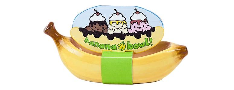 Very Banana Split Boat Bowl - The Green Head IO41