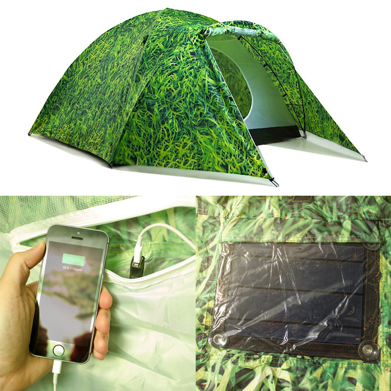 Bang Bang Solar-Powered Tent