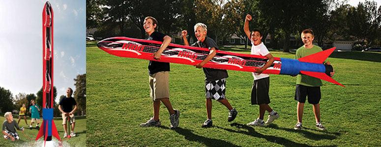 Banzai Titan Blast Inflatable Rocket Launches Over 100