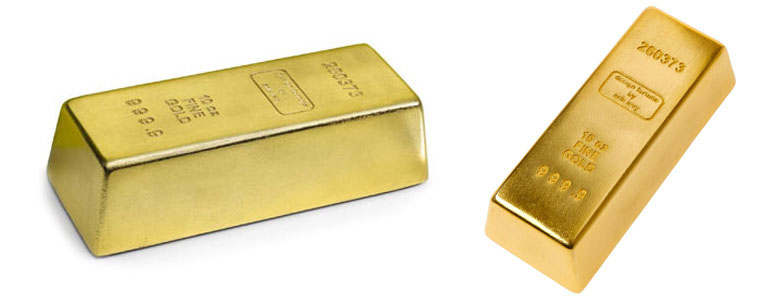 Bar of Gold Door Stop