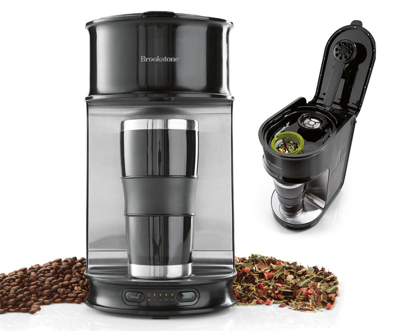 Beans and Leaves - Single Cup Coffee or Tea Maker