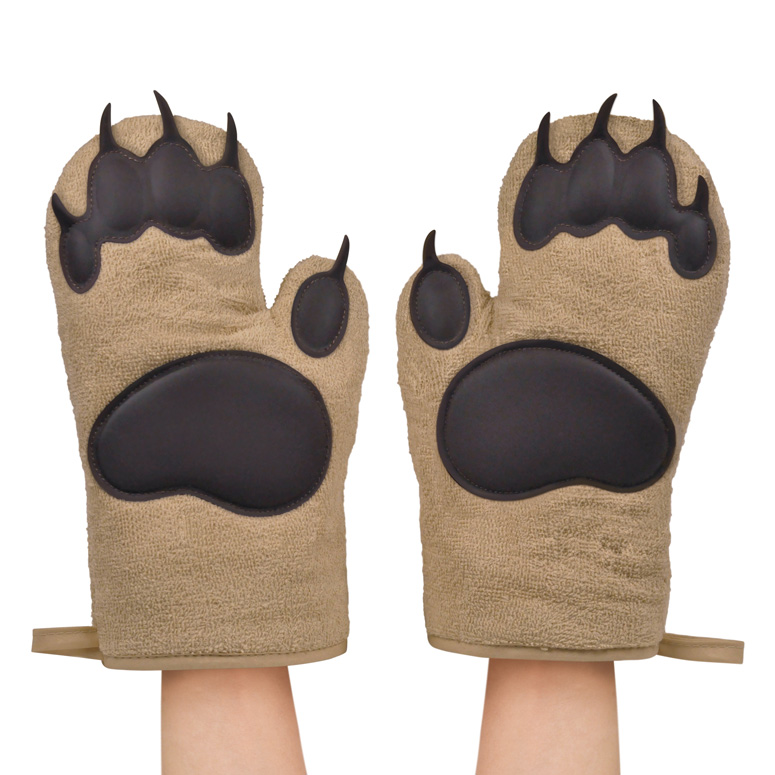 Bear Claw Oven Mitts The Green Head