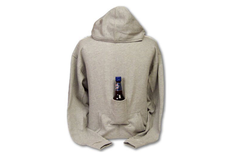Find Out More About Beer Hoodie Sweatshirt With Beer Pouch