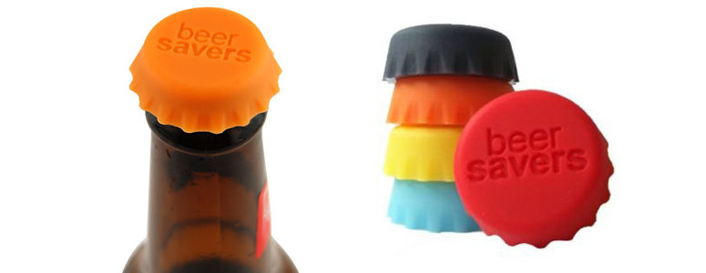 Beer Savers Reusable Silicone Bottle Caps The Green Head