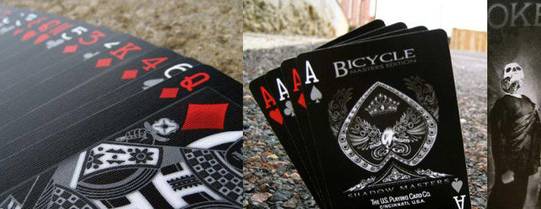 Bicycle Shadow Masters - Black Deck of Playing Cards - The ...