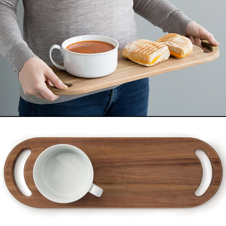 Bistro Soup and Sandwich Tray / Serving Board