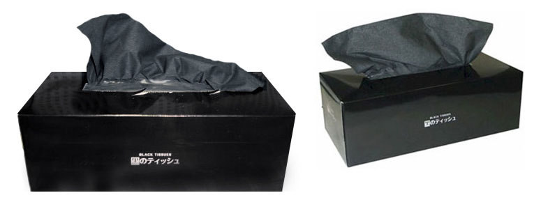 Black Tissues from Japan