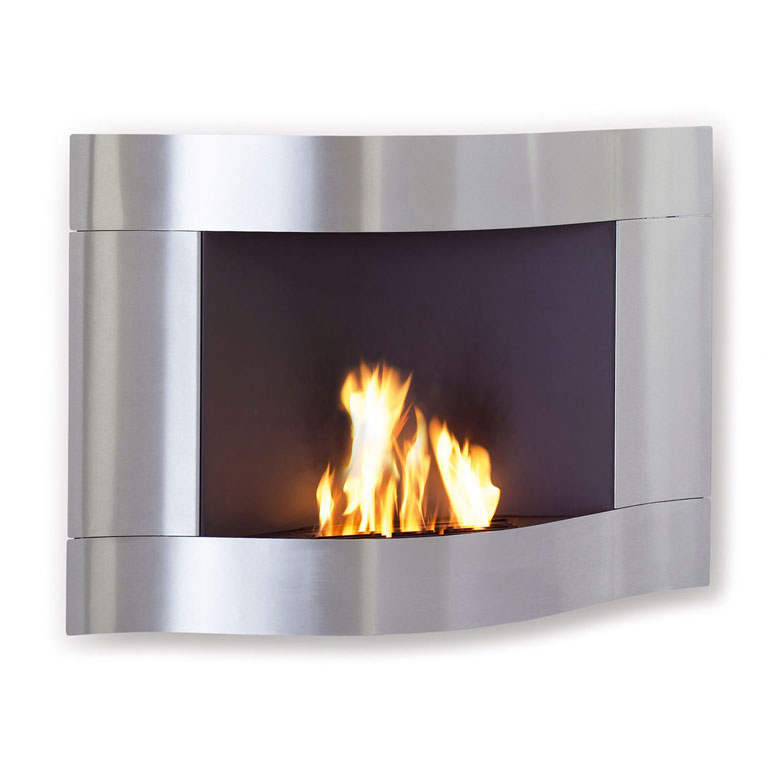 Chimo Wave Fireplace - No Chimney Required! - TheGreenHead.com