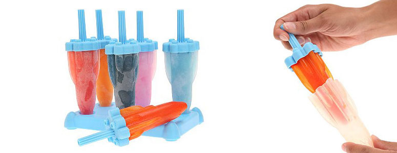 Blue Rocket Pop Molds - Popsicle Maker