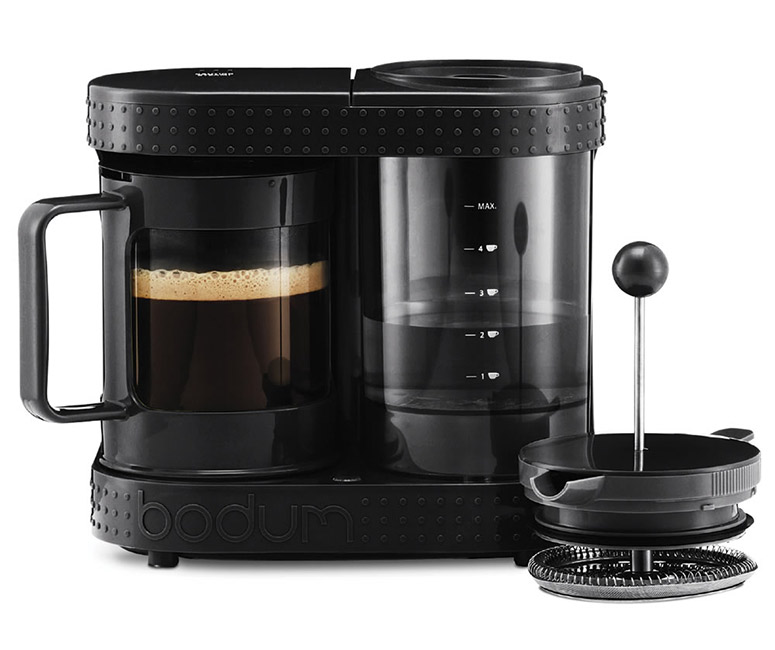 bodum bistro electric french press. Black Bedroom Furniture Sets. Home Design Ideas