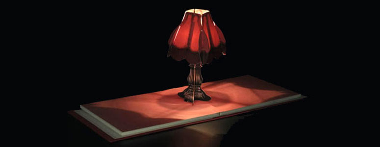 Book of Lights - Pop-Up Working Lamp