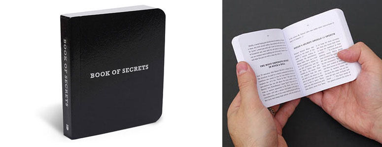 Book of Secrets - Reveals Hundreds of Pop-Cultural and Historical Curiosities