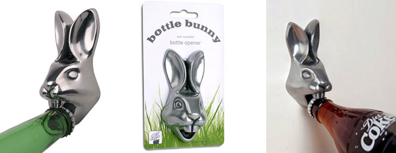 Bottle Bunny - Wall Mounted Bottle Opener