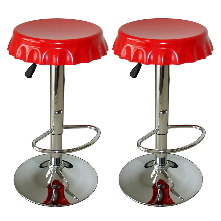 Bottle Cap Barstools The Green Head